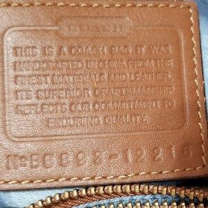 Coach Bags - Coach Blue Denim Canvas Patchwork Bag